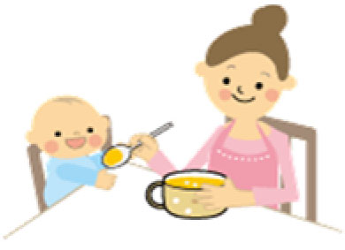 子育てミニサークル「離乳食のお話」