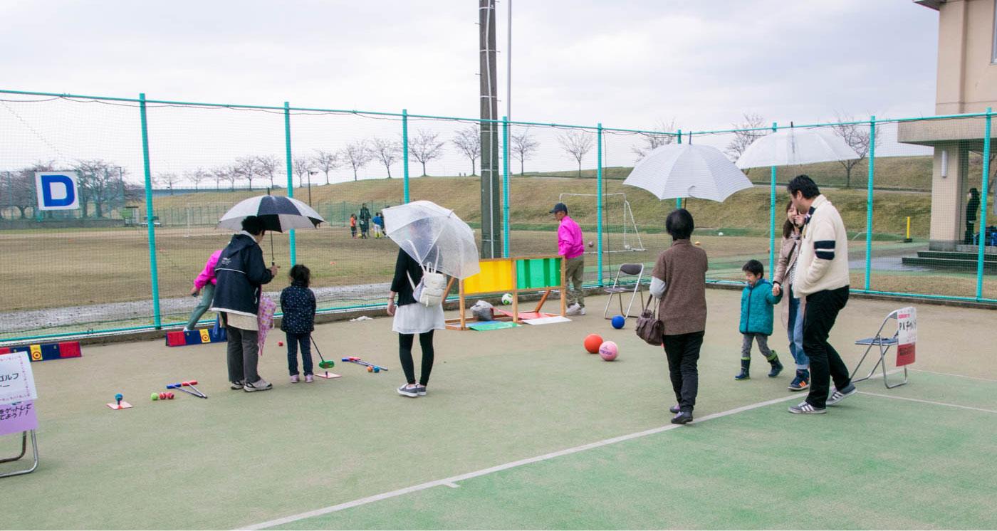 第4回 越路河川公園桜まつりスポーツフェスティバル
