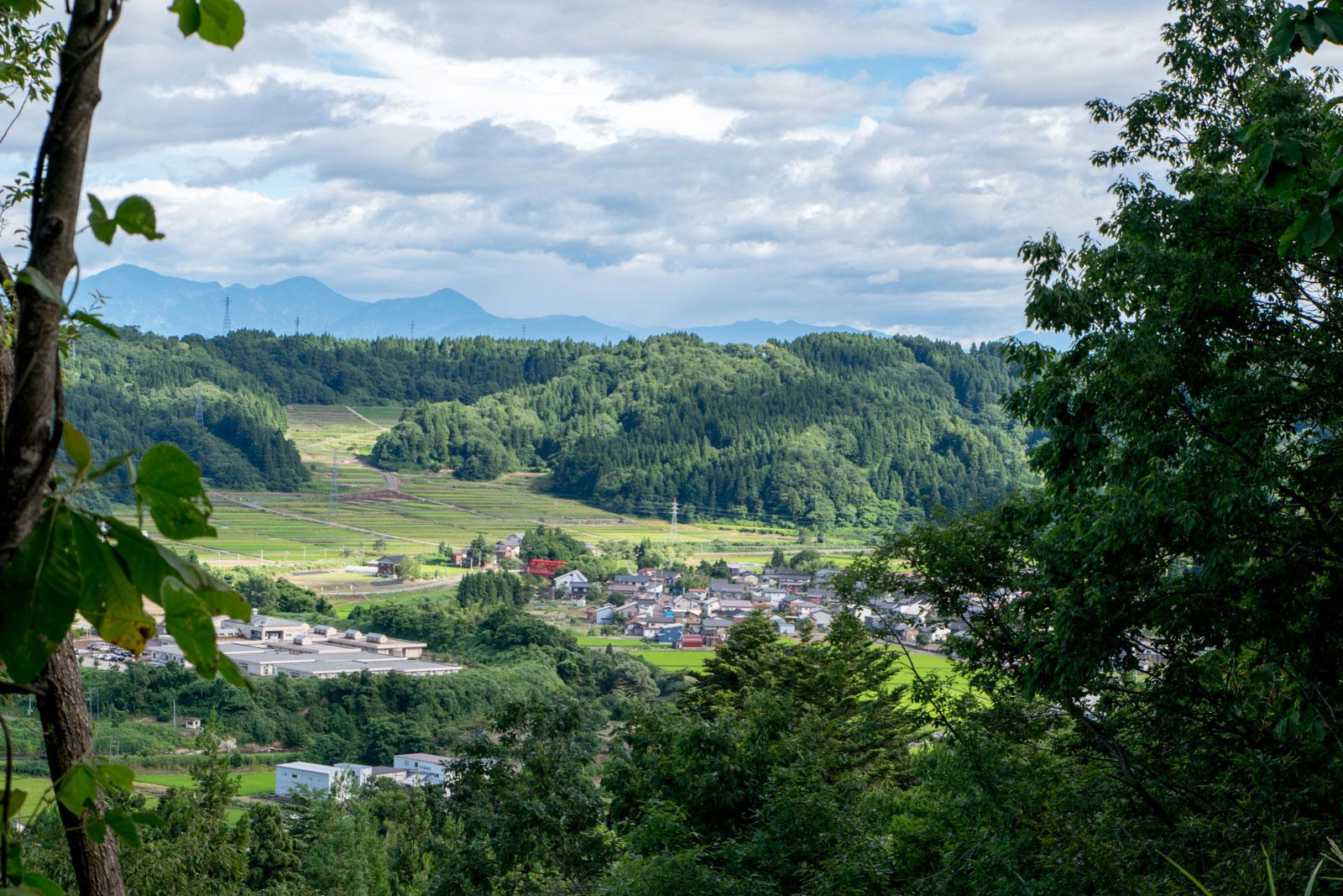 秋葉山 風景