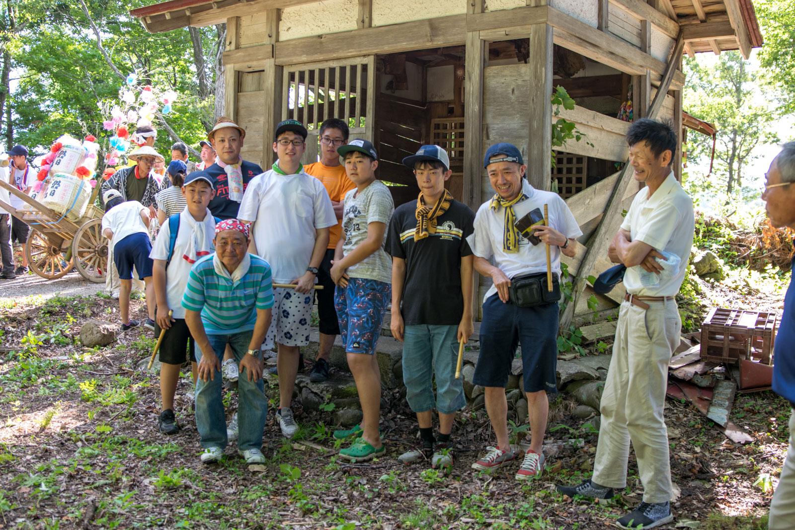 秋葉山神社 集合写真