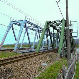 信越本線信濃川橋梁