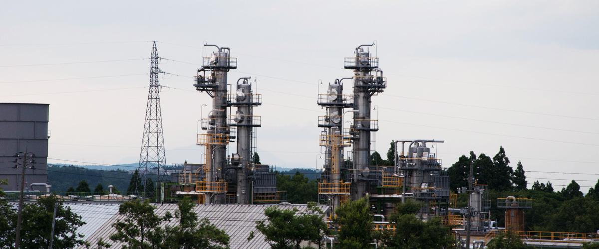 国際石油開発帝石 越路原プラント