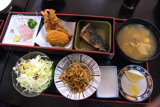 魚豊 ランチ
