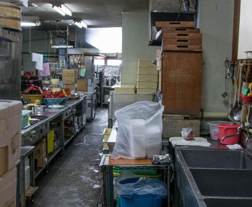 魚豊 厨房