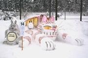 雪像づくりコンテスト