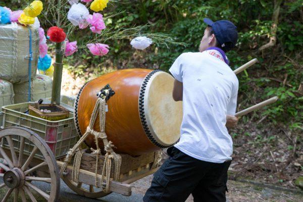 秋葉祭り 太鼓