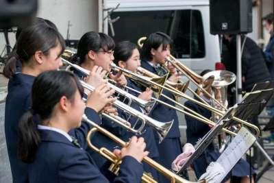 越路中学校吹奏楽部