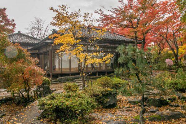 高橋邸と紅葉