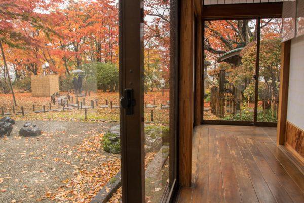 巴ヶ丘山荘の廊下
