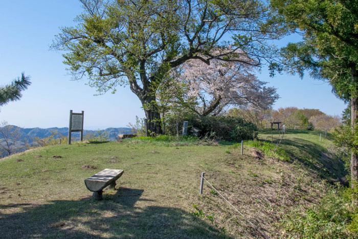 枡形山自然公園 山頂