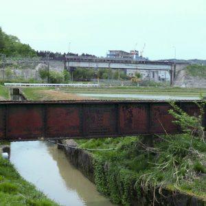 越後交通長岡線廃線跡