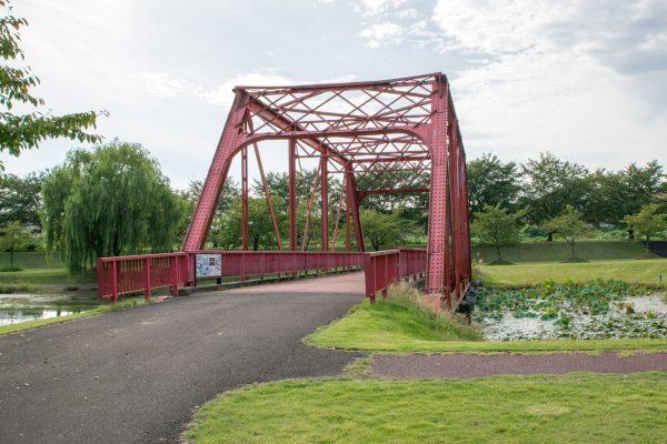 旧越路橋(越路河川公園)