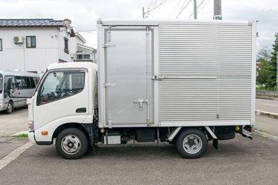 引越し用箱トラック