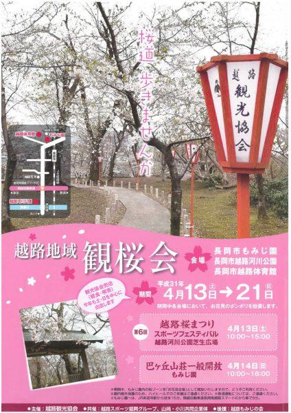越路地域 観桜会