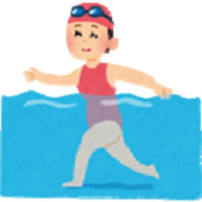 女性のための水中ウォーキング教室